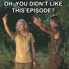 Only newbie haters who watch TWD for purely zombies & gore hated this episode.