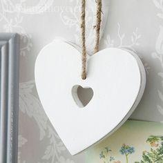 Cut Out Heart - Hanging Heart - £2.95 http://www.livelaughlove.co.uk/Cut-Out-Heart-Hanging-Heart..html