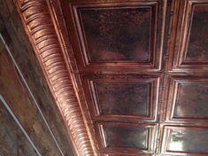 """Decorative Ceiling Tiles, Inc. Store - Union Square - Copper Ceiling Tile - 24""""x24"""" -"""