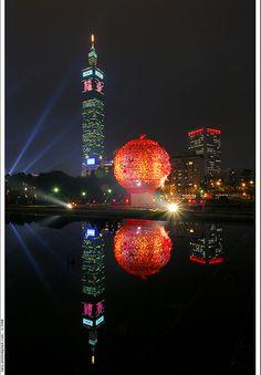 Taipei 101 #Taiwan Taipei 101, Taipei Taiwan, Some Beautiful Pictures, Beautiful Places, Places Around The World, Around The Worlds, Places To Travel, Places To Go, Asia