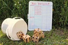 15 easy or inexpensive lawn games. Perfect for summer days, holidays or any days. | 31Daily.com