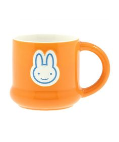 Orange Bunny Mug by Kotobuki Trading