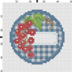 Point de croix Etiquettes *m@* Cross stitch