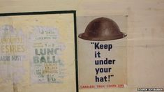 The London Underground station at Aldwych closed in 1994 - it was used as an air-raid shelter during WW II. If these  posters could talk . . .