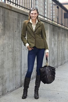 Equestrian Style, Daytime Look