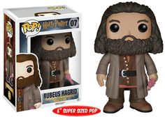 Pop! Movies: Harry Potter - Rubeus Hagrid--COLLECT THEM ALL!!