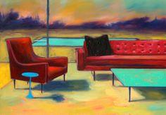"Saatchi Art Artist: Ian McLean; Oil 2011 Painting ""Holding Area SOLD"""