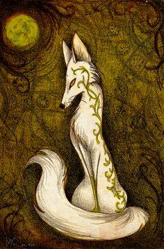 White Fox by CulpeoFox