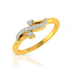 Buy Casual Diamond Rings Online for office wear & everyday styling. Casual rings for women add charm to daily wear & diamond casual rings from latest designer collection will make you look wonderful. Gold Rings Jewelry, Gold Diamond Rings, Diamond Studs, Diamond Jewelry, Jewellery, Casual Rings, Gold Ring Designs, Pretty Rings, Rings Online
