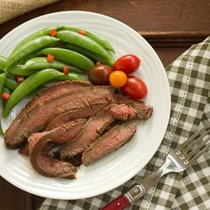 Korean Grilled Flank Steak http://www.thatskinnychickcanbake.com/2013/06/korean-grilled-flank-steak-sundaysupper.html  #BBQ #grilled #beef #4thofJuly