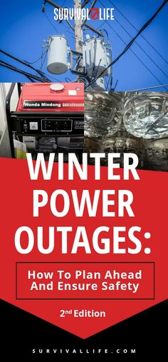 While the basics of preparing for power outages apply year round, there are special considerations in winter due to heavy snow, sleet, and freezing rain. 🌨❄️ Here's how to plan ahead and ensure safety during winter power outages. Survival Life, Homestead Survival, Survival Prepping, Survival Skills, Survival Hacks, Survival Shelter, Survival Gear, Power Outage Kit, Emergency Management