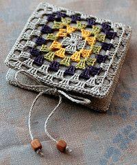 granny square needle book