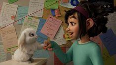 """A Netflix divulgou o trailer de sua nova animação, A Caminho da Lua. O filme, com direção de Glen Keane, conta a história de uma menina apaixonada pela ciência que constrói uma nave espacial. Fei Fei parte para a lua determinada a comprovar a existência de uma deusa lendária. """"Chegando lá, ela acaba assumindo uma missão e descobre uma região habitada por criaturas fantásticas"""", diz a sinopse. O elenco conta com as vozes de Cathy Ang (Fei Fei), Phillipa Soo (Chang'e), Robert G.  Ken Jeong, John Cho, Netflix Releases, Film Releases, New Animation Movies, Animation Film, Dear Basketball, Amy Tan, Top Film"""