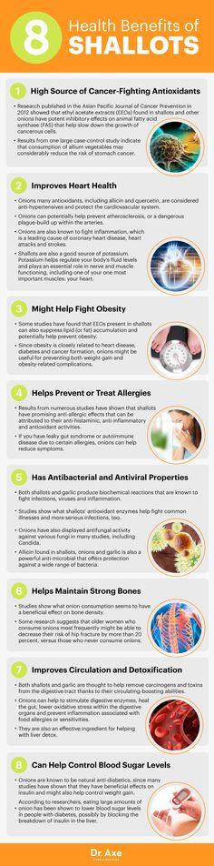 Shallot benefits - Dr. Axe http://www.draxe.com #health #holistic #natural