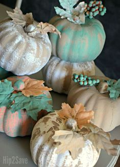 Easy Pumpkin Crafts With Dollar Tree Items | Hip2Save