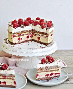 Sweet Recipes, Cake Recipes, Dessert Recipes, Pretty Birthday Cakes, Fudge Cake, Vegan Kitchen, Baking And Pastry, Polish Recipes, Drip Cakes