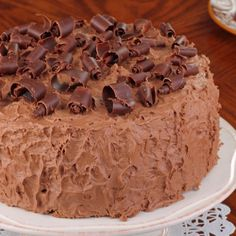 A moist and delicious�Mocha Cake With Chocolate Frosting Recipe. Mocha Cake With Chocolate Frosting Recipe from Grandmothers Kitchen.