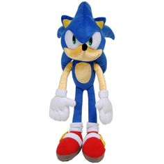 Free 2-day shipping on qualified orders over $35. Buy Sonic the HedgehogKids Bedding Plush Cuddle and Decorative Pillow Buddy, Blue at Walmart.com Cuddle Pillow, Pillow Pals, Plush Pillow, Sonic The Hedgehog Halloween Costume, Sonic Plush Toys, Teddy Ruxpin, Big Plush, Best Christmas Presents, Little Games
