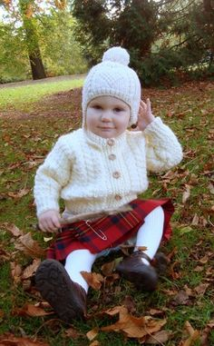 Getting in touch with your inner Scottish! Don't buy knock-off Scottish wear! Support the Tartan Trades!