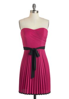Pretty in Plum Dress, #ModCloth - Don't usually go for this color, but I love this!