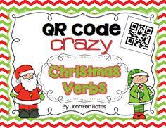 QR Code Crazy Verbs