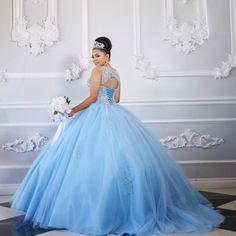 Dress by Lili's Creation   For more dress ideas got to http://www.quinceanera.com/quinceanera-dresses/