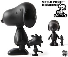 Black Snoopy & Woodstock