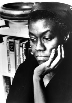 "Blog post: ""The Magic Moment"" by Caitlin Rizzo, October 18, 2012. Photograph: Gwendolyn Brooks, the 29th Consultant in Poetry at the Library of Congress. Poetry and Literature Center at the Library of Congress."