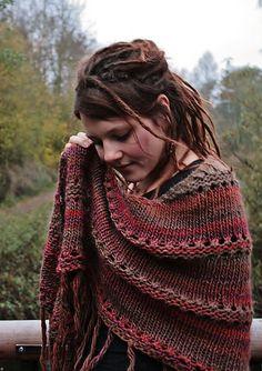 Ravelry: doro88's Autumn Azzu´s Shawl