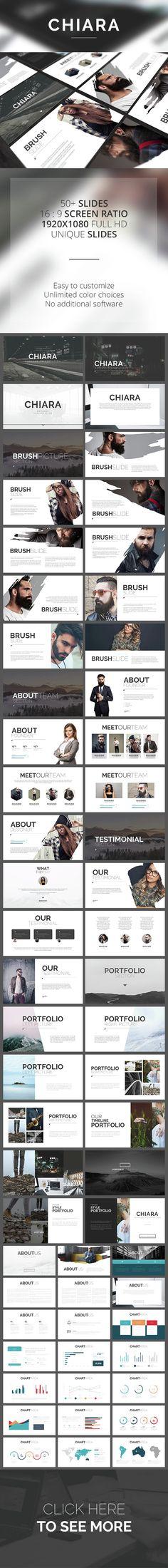 50:50 powerpoint template | templates | pinterest | ppt design, Presentation templates
