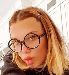 Millie Bobby Brown, Stranger Things 2, Enola Holmes, Sadie, Eyewear, She Is Gorgeous, Beautiful, The Third Person, Vogue