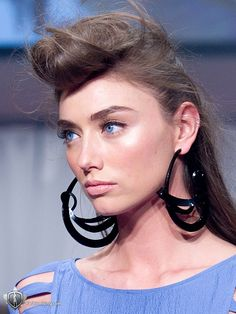 80's flair I would still rock the do and the earrings