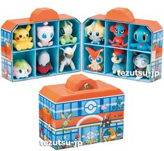 pokemon houses | Pokemon Center Plush Doll House 2013 New Year Limited Japan Pikachu ...