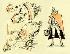 drawings by Jake Parker