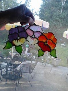 Happy little pansies