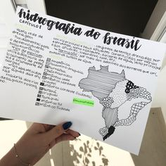 Resuminho de geografia ❤️ - - - - - #study #studygram #estudo #estudos #foco #enem #vestibular #vest #vestibulando #vestibulanda…