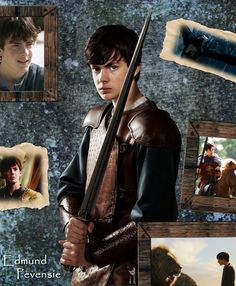 Scrap-Book: Edmund Pevensie