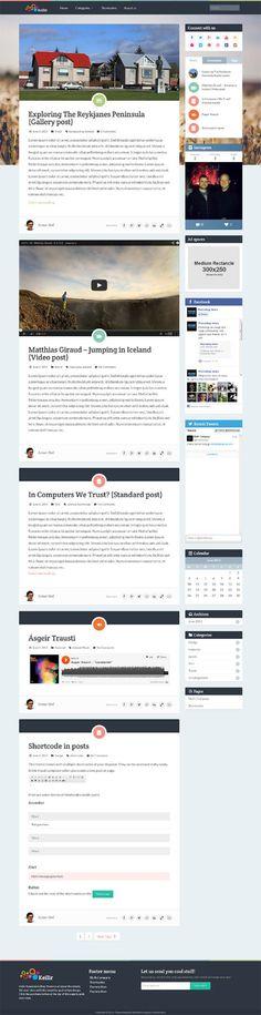 Fact, WordPress Bold Creatives Portfolio Theme   Premium WordPress ...