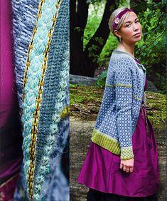 Ravelry: Wiolakofta i tynn alpakka pattern by Kristin Wiola Ødegård Fair Isle Knitting Patterns, Knitting Stitches, Knitting Yarn, Cardigan Design, Knit Cardigan, Redo Clothes, Norwegian Style, Nordic Sweater, Yarn Shop