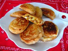Cocina Costarricense: pasteles de viento
