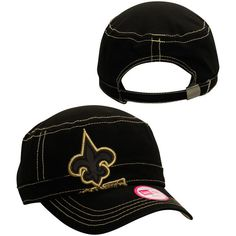 New Orleans Saints New Era Women's Jumbo Zone Adjustable Hat - Black - $26.99