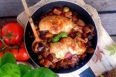 Pieczarki, szpinak i jajko to idealne połączenie, w sam raz na sobotnie śniadanie. Tasty Kitchen, Food To Make, Food And Drink, Pork, Diet, Meals, Chicken, Blog, Recipes