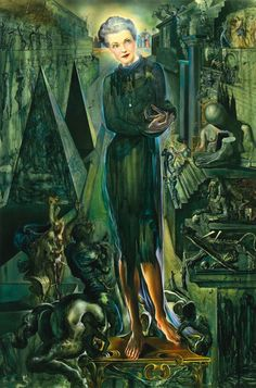 Portrait de Madame Harrison Williams, 1943, Salvador Dalí