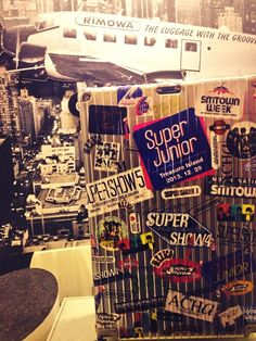 - SUPER JUNIOR STYLE with RIMOWA pic.twitter.com/tzSvkHIGJ0