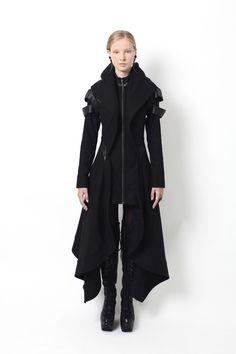 Gelareh Designs Avant Long Coat – FIVE AND DIAMOND