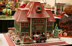 gingerbread house competition 2014 | Contestants from across the country bring their architectural ...