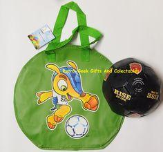 Football Kit Bag And Ball Brazil World Cup 2014 Rise As One Fifa Budweiser Promo  | eBay