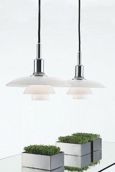 Louis Poulsen PH 3/2 Forkrom Høyglans - Belysning Ceiling Lights, Ph, Lighting, Home Decor, Products, Spot Lights, Parts Of The Mass, Display, Sparkle