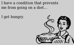 Such a dire condition.