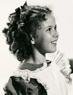 Beautiful, adorable, Shirley Temple